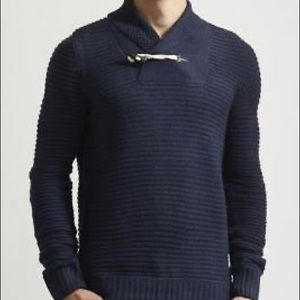 BellField Men's Turtleneck BlueSweater